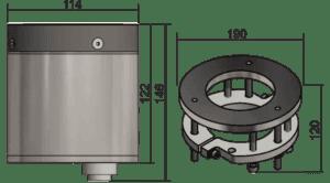 medidas sensor arcomix
