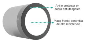 sensor humedad acero alta resistencia
